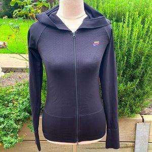 NIKE   Zip through slimline hoodie